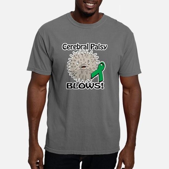 Cerebral Palsy Blows Awa Mens Comfort Colors Shirt