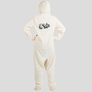 Lucky Elephant ~ Footed Pajamas