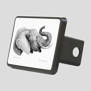 Lucky Elephant ~ Rectangular Hitch Cover