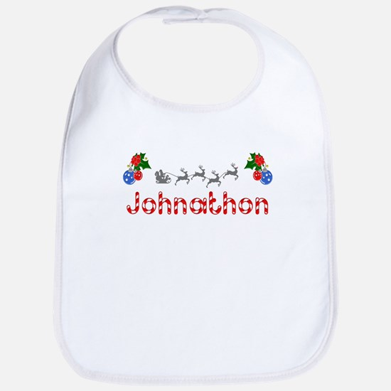 Johnathon, Christmas Bib