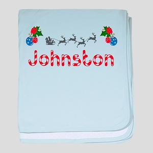 Johnston, Christmas baby blanket