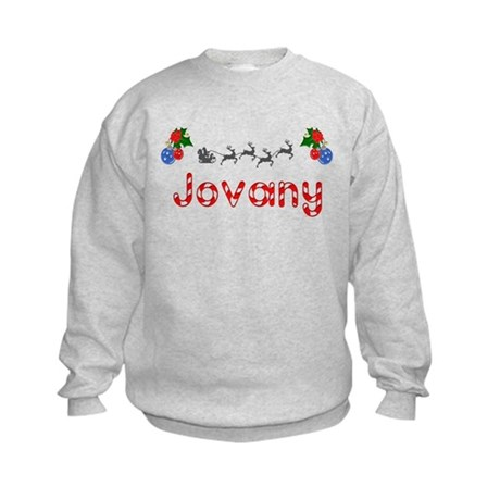 Jovany, Christmas Kids Sweatshirt