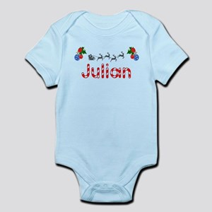 Julian, Christmas Infant Bodysuit