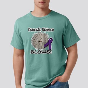 Domestic Violence Blows  Mens Comfort Colors Shirt