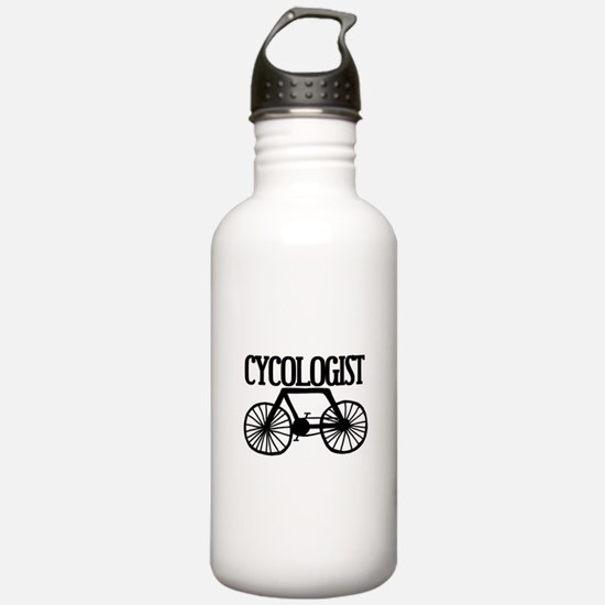'Cycologist' Water Bottle