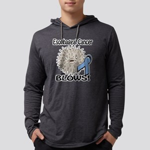 Esophageal Cancer Blows Awarenes Mens Hooded Shirt