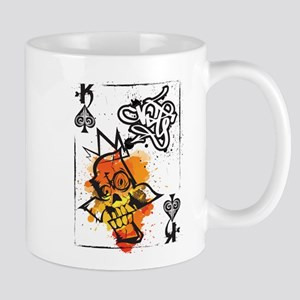 Skull King of Spades Mug