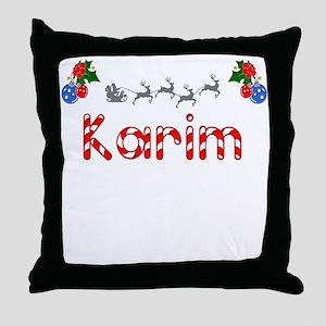 Karim, Christmas Throw Pillow