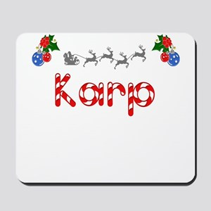 Karp, Christmas Mousepad