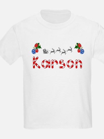 Karson, Christmas T-Shirt