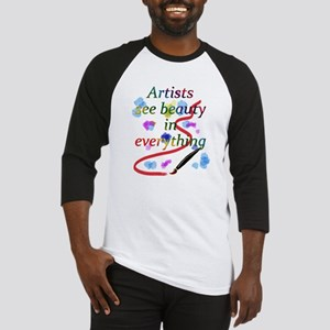 Artists See Beauty Baseball Jersey