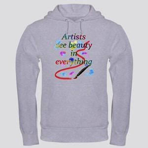 Artists See Beauty Hooded Sweatshirt