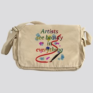 Artists See Beauty Messenger Bag