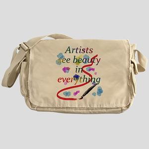 Artists See Beauty Messenger Bag
