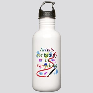 Artists See Beauty Stainless Water Bottle 1.0L
