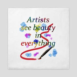 Artists See Beauty Queen Duvet