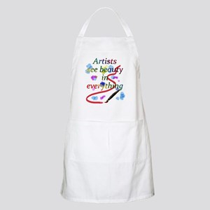 Artists See Beauty Apron