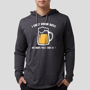 DrinkBeerDays3B Mens Hooded Shirt