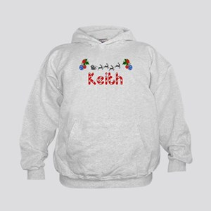 Keith, Christmas Kids Hoodie