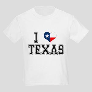 I heart Texas Kids Light T-Shirt