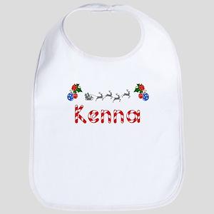 Kenna, Christmas Bib