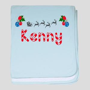 Kenny, Christmas baby blanket