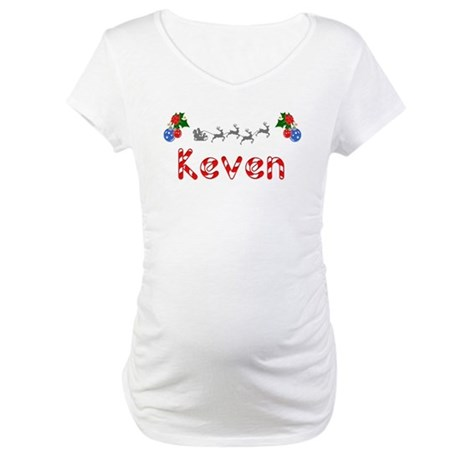 Keven, Christmas Maternity T-Shirt