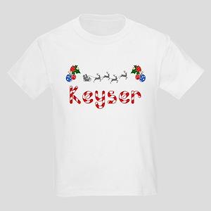 Keyser, Christmas Kids Light T-Shirt