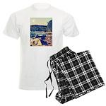 Rocky Shores of Lake Superior Men's Light Pajamas