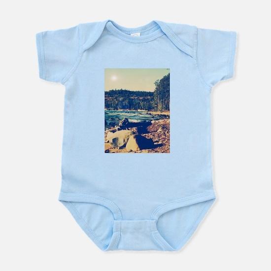 Rocky Shores of Lake Superior Infant Bodysuit
