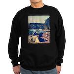 Rocky Shores of Lake Superior Sweatshirt (dark)