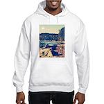 Rocky Shores of Lake Superior Hooded Sweatshirt