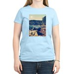 Rocky Shores of Lake Superior Women's Light T-Shir