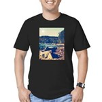 Rocky Shores of Lake Superior Men's Fitted T-Shirt