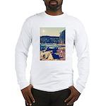 Rocky Shores of Lake Superior Long Sleeve T-Shirt
