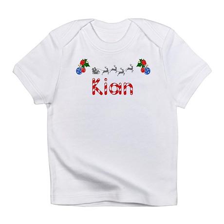 Kian, Christmas Infant T-Shirt