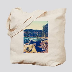 Rocky Shores of Lake Superior Tote Bag