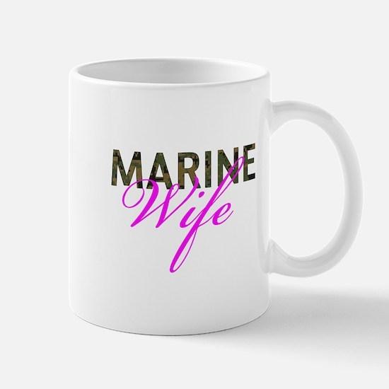Marine Wife Woodland Mug