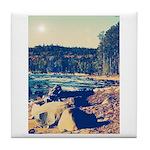 Rocky Shores of Lake Superior Tile Coaster