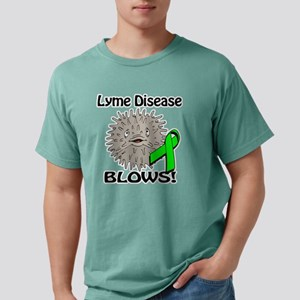 Lyme Disease Blows Aware Mens Comfort Colors Shirt