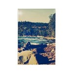 Rocky Shores of Lake Superior Rectangle Magnet