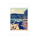 Rocky Shores of Lake Superior Sticker (Rectangle 5