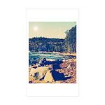 Rocky Shores of Lake Superior Sticker (Rectangle 1