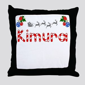 Kimura, Christmas Throw Pillow