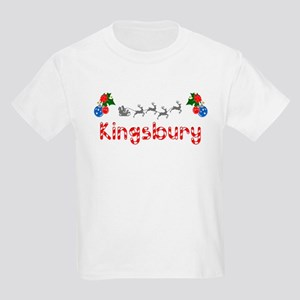 Kingsbury, Christmas Kids Light T-Shirt
