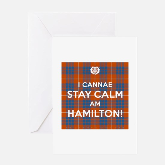 Hamilton Greeting Card