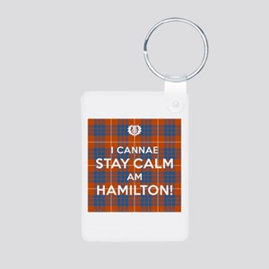 Hamilton Aluminum Photo Keychain