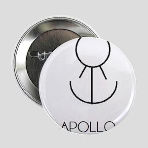 """Apollo Asterian astrology 2.25"""" Button"""