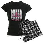 Personalized Cheer Design Women's Dark Pajamas