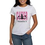 Personalized Cheer Design Women's T-Shirt